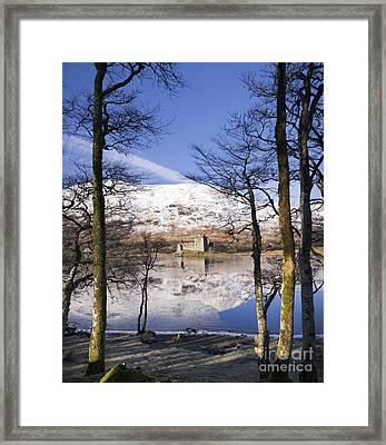 Kilchurn Castle Scotland Framed Print by Tim Gainey
