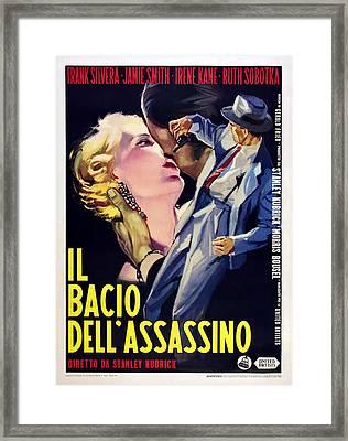 Killers Kiss, Italian Poster, Irene Framed Print by Everett
