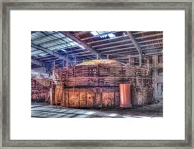 Kiln Framed Print by Jim Thompson