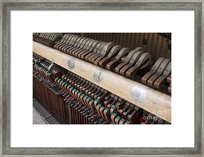 Kimball Piano-3471 Framed Print by Gary Gingrich Galleries