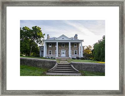 Kimberton Waldorf School - Phoenixville Chester County Pa Framed Print by Bill Cannon