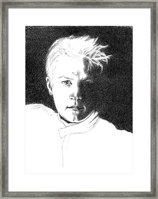 Kimmi Raikkonen Framed Print by Diane Fine