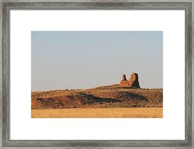 Kin Klizhin Greets The Dawn Framed Print by Feva  Fotos