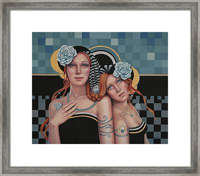 Kindred Spirits Framed Print by Susan Helen Strok