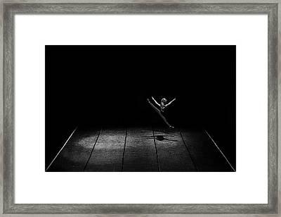 Kinetic Framed Print by Nemanja Jovanovic