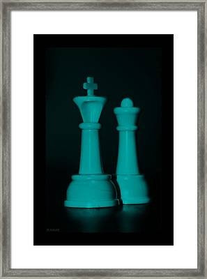 King And Queen In Turquois Framed Print by Rob Hans