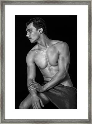king David son  Framed Print by Mark Ashkenazi