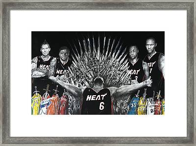 King James And His Court Framed Print by S G Williams