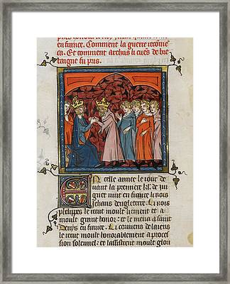 King John Of England Framed Print by British Library