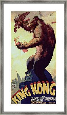King Kong  Framed Print by Movie Poster Prints