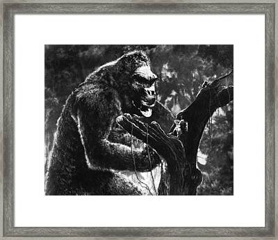 King Kong  Framed Print by Silver Screen