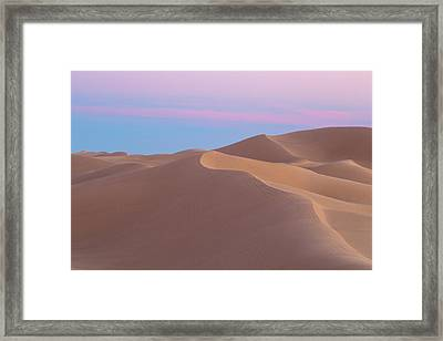 King Of The Hill Framed Print by Peter Tellone