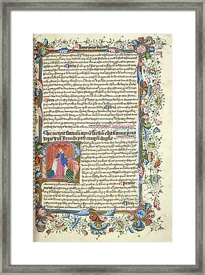 King Richard II Framed Print by British Library