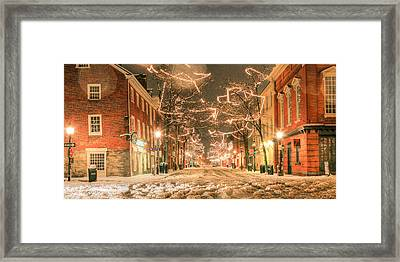 King Street Framed Print by JC Findley