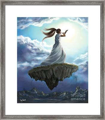 Kingdom Call Framed Print by Tamer and Cindy Elsharouni