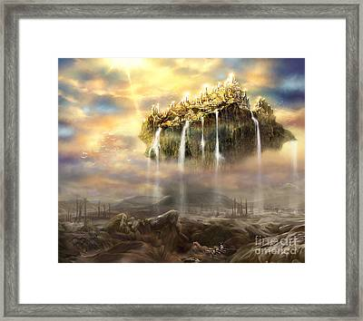 Kingdom Come Framed Print by Tamer and Cindy Elsharouni