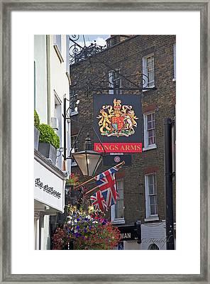 Kings Arms Pub Framed Print by Cheri Randolph