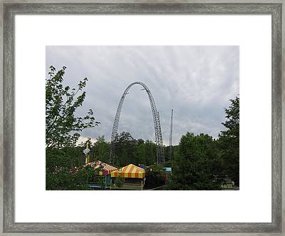 Kings Dominion - 01135 Framed Print by DC Photographer