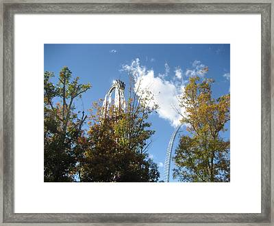 Kings Dominion - Hypersonic Xlc - 12121 Framed Print by DC Photographer