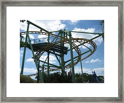 Kings Island - 121262 Framed Print by DC Photographer