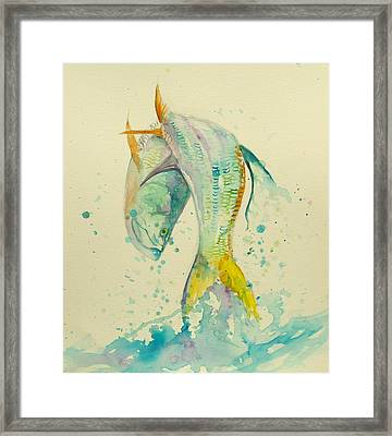 King's Jump  Framed Print by Yusniel Santos