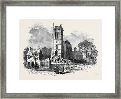 Kings Norton Church, Leicestershire Framed Print by English School