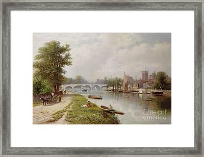 Kingston On Thames Framed Print by Robert Finlay McIntyre