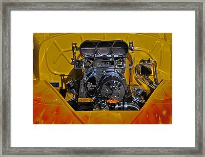 Kinsler Fuel Injection Framed Print by Mike Martin