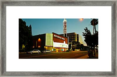 Kirk Douglas Theatre, Culver City, Los Framed Print by Panoramic Images