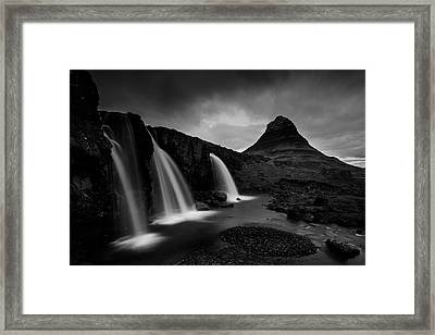Kirkjufell Iceland Framed Print by Nina Pauli