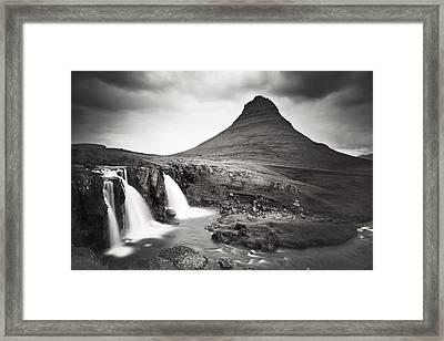 Kirkjufellfoss Framed Print by Nina Papiorek