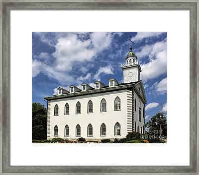 Kirtland Temple Framed Print by Richard Lynch