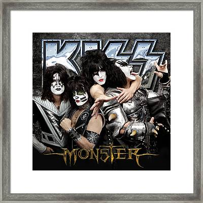 Kiss - Monster (2012) Framed Print by Epic Rights