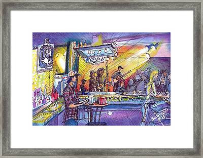 Kitchen Dwellers  Framed Print by David Sockrider
