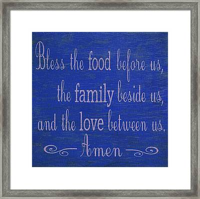 Kitchen Home Decor Framed Print by Dan Sproul