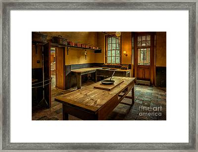 Kitchen Quarters  Framed Print by Adrian Evans