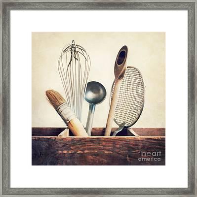 Kitchenware Framed Print by Priska Wettstein