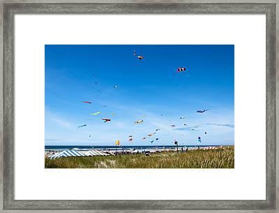 Kite Festial Framed Print by Robert Bales