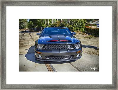 Kitt 3000 - 2 Framed Print by Tommy Anderson