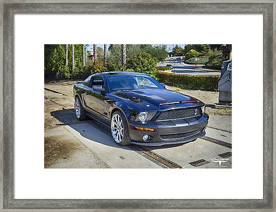 Kitt 3000 - 3 Framed Print by Tommy Anderson