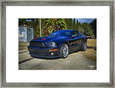 Kitt 3000 Framed Print by Tommy Anderson