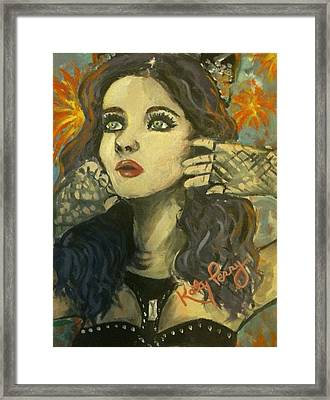Kitty Perry Framed Print by Alana Meyers
