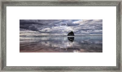 Kiwanda Clouds Framed Print by Darren  White