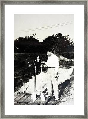 Klaus Riedel Framed Print by Detlev Van Ravenswaay
