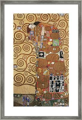 Klimt Fulfillment Framed Print by Granger