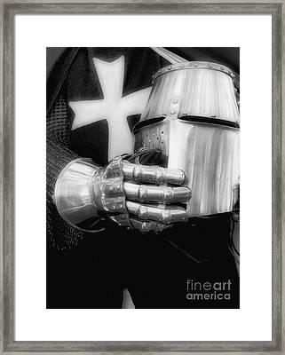 Knight 2 Framed Print by Bob Christopher