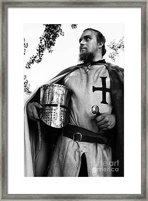 Knight 3 Framed Print by Bob Christopher