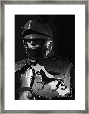 Knight 7 Framed Print by Bob Christopher