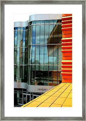 Knight And Day Framed Print by Randall Weidner