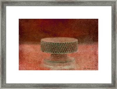 Knob 12 Framed Print by WB Johnston